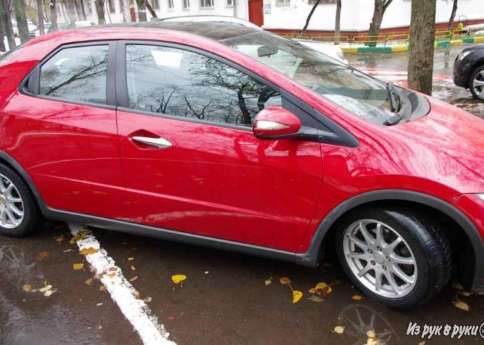 ����������� ����� �������� ���������� Honda Civic - ����������� ���� ����� ��������