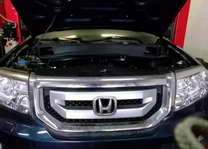 Ремонт головок блока цилиндра на Honda Pilot - Замена двигателя автомобиля