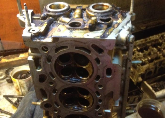 Капитальный ремонт Головки Блока Цилиндра двигателя 1ZZ - Ремонт ГБЦ