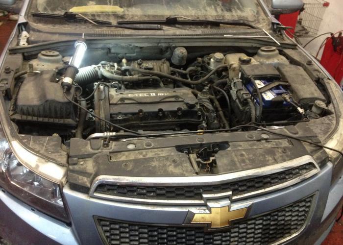Замена двигателя/ДВС  Chevrolet Cruze 2010г.в. - Замена двигателя автомобиля
